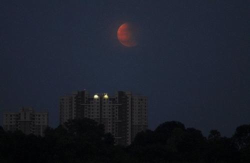 """Чего ждать от """"Кровавого"""" лунного затмения 31 января 2018"""