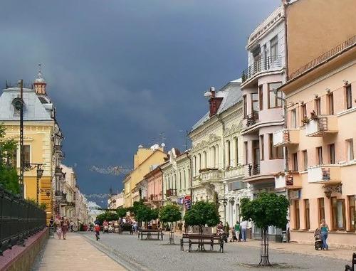 Достопримечательности Украины - интересные факты из истории города Черновцы