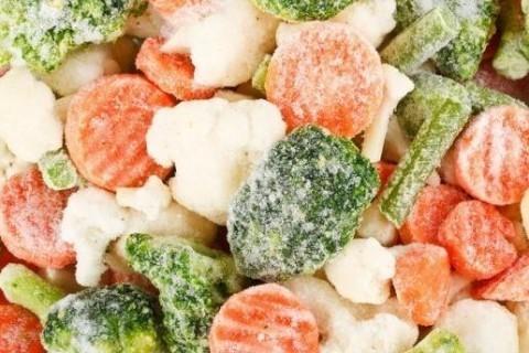 Замороженные овощи полезнее