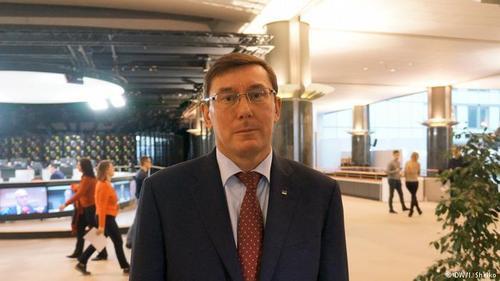 Юрій Луценко: Скажемо чесно, я - політично призначений генпрокурор