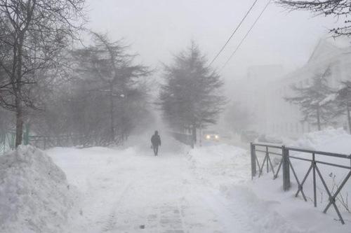 В Украину идет снежный циклон
