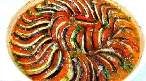 Блюдо французской кухни: Рататуй