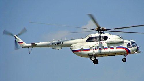 В России разбился вертолет Ми-8: Есть жертвы