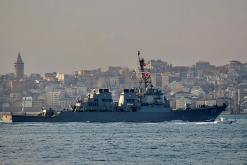 Два американских эсминца с «Томагавками» вошли в Черное море