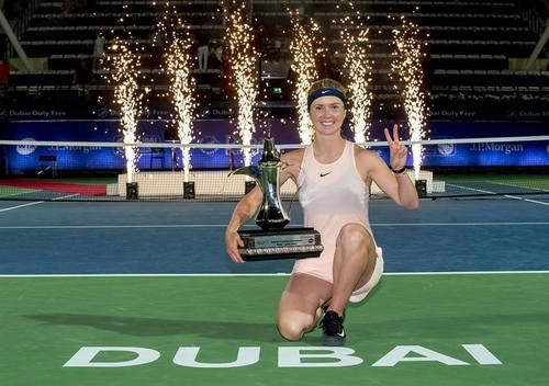 Второй титул Элины в этом сезоне и одиннадцатый за карьеру