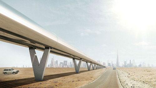 В Дубае показали свой прототип капсулы для Hyperloop (ВИДЕО)