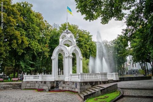 Достопримечательности Украины: Харьков. Зеркальная струя