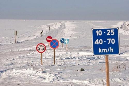 В Эстонии есть дороги, на которых штрафуют за пристегнутый ремень безопасности