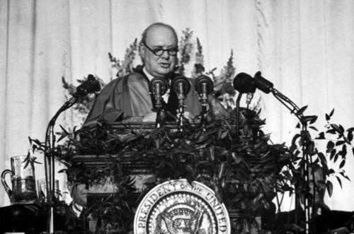 Пророческая речь Черчилля