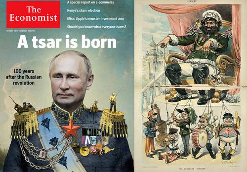 Путин лезет в драку с Западом — The Wall Street Journal