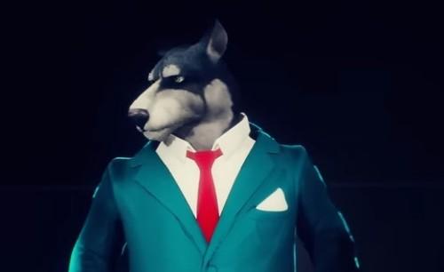 """Волк Гарик выбирает пиджак - """"Заповедник"""""""