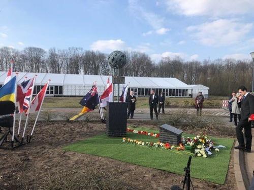 В Нидерландах открыли мемориал, посвященный жертвам катастрофы рейса MH17