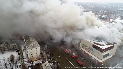Он сгорел…Почему за пожар в ТЦ «Зимняя вишня» несет ответственность Путин