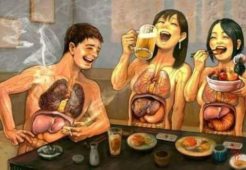 Вредные привычки, и их влияние на здоровье