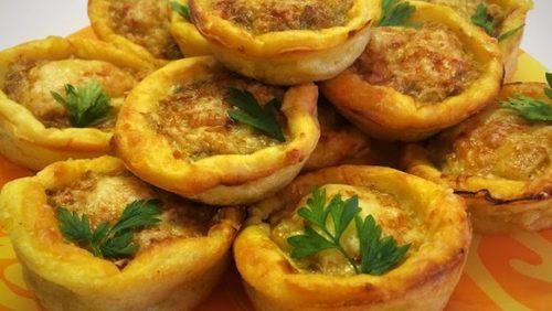 Мамины секреты «Тефтели в картофельных корзиночках»