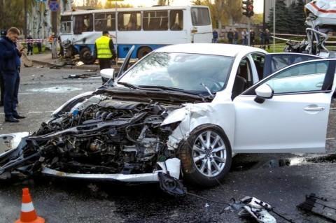 ДТП в Кривом Роге: подозреваемый водитель легковушки скончался