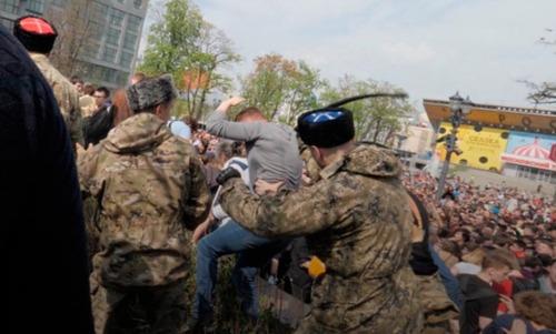"""«Российские """"титушки"""" - новый символ власти» - Виталий Портников"""