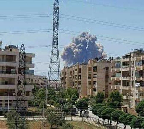 В Сирии подорвали авиабазу
