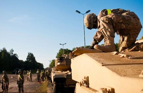 В Бельгию доставили американскую военную технику для дальнейшего развертывания в Восточной Европе