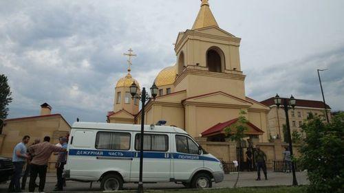 Нападение на православный храм в Грозном: есть погибшие