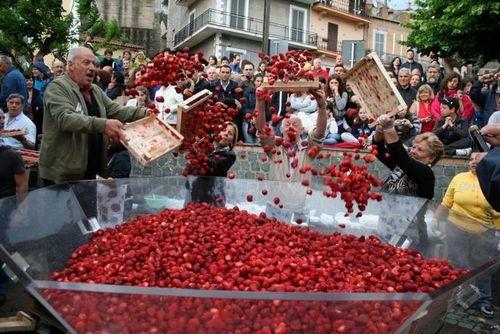 Итальянский фестиваль клубники