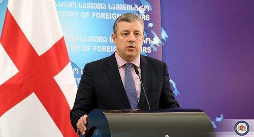 Премьер Грузии отказался уходить в отставку по требованию протестующих