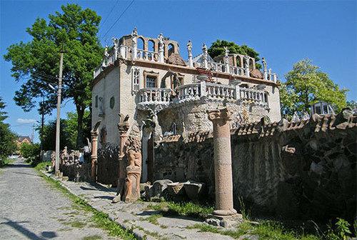Достопримечательности Украины: Дом скульптора