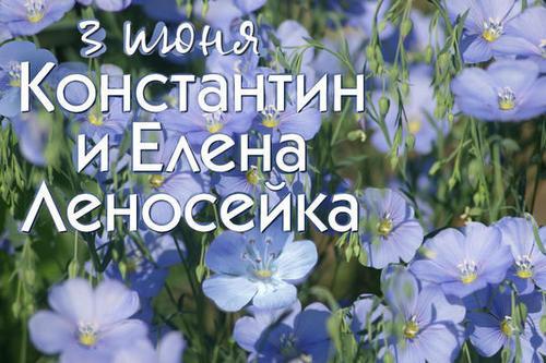 3 июня – День Елены-Леносейки, День Олена, День Константина: Приметы и суеверия
