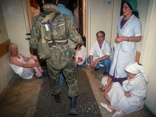 Один из самых кровавых терактов в истории России