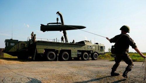 Россия проводит «учения» у границ с Украиной с применением «Искандеров»