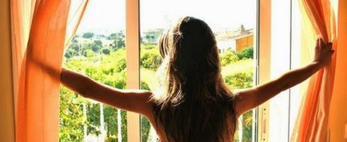 Солнце за окном повышает настроение