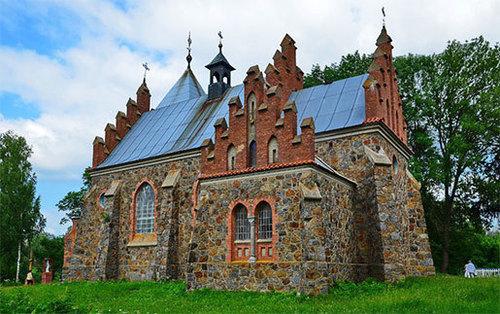 Достопримечательности Украины: Костел Святой Клары