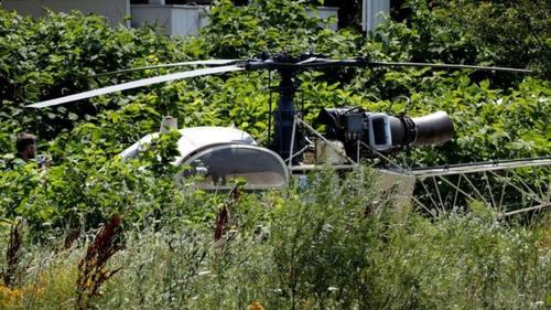 Грабитель банков сбежал из тюрьмы на вертолете