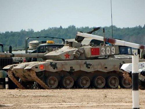 В Чите неожиданно появилась китайская танковая бригада