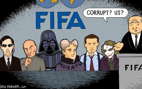 В Брюсселе презентовали фильм о коррупции в ФИФА (ВИДЕО)