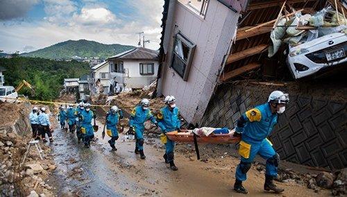 Смертоносное наводнение в Японии: власти опасаются вспышек болезней