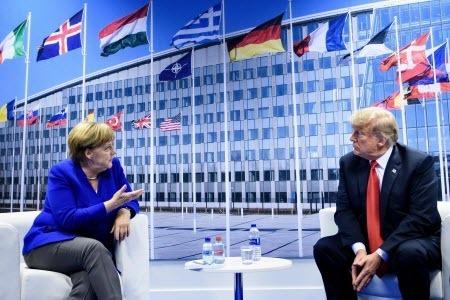 """Атака Трампа на Германию: риторические излишества или """"игра с позиции силы"""""""
