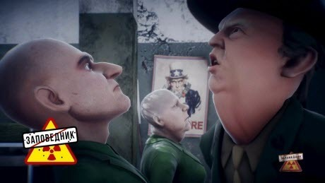 """Сержант Хартман и его европейские солдаты - """"Заповедник"""""""