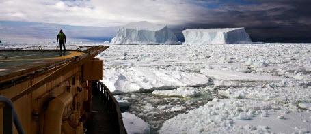 Признаки катастрофы в Антарктиде