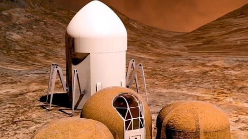 NASA показало, каким будет жилье на Марсе