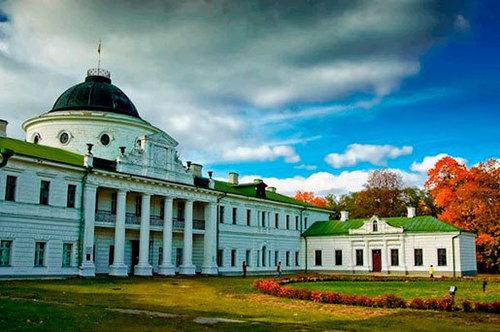Достопримечательности Украины: Дворец и парк Тарновских в Качановке