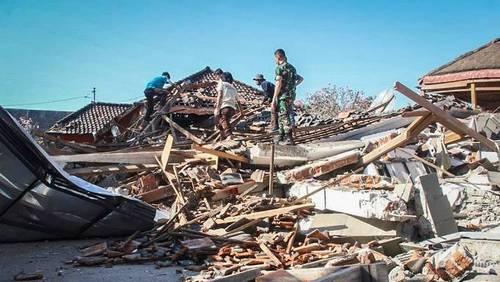 Землетрясение на острове Ломбок: 98 погибший