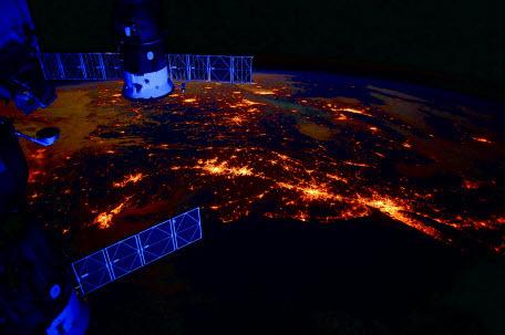 Несколько интересных фактов о жизни на борту МКС