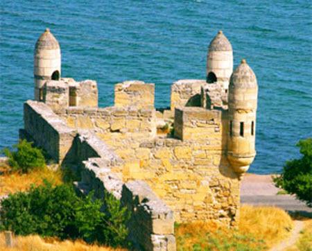 Достопримечательности Украины: Крепость Ени-Кале