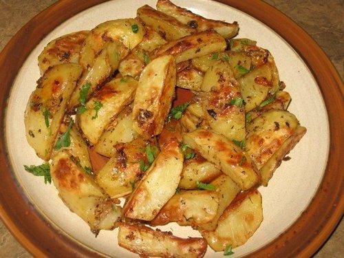 Мамины секреты «Печеный картофель с травками и специями»