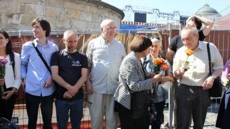 В Москве задержали участников акции в память о «Демонстрации восьмерых»