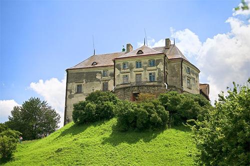Достопримечательности Украины: Олеский замок