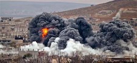 Россия возобновила удары по Сирии