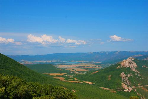 Достопримечательности Украины: Байдарская долина