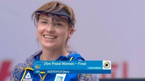 Українка Олена Костевич стала чемпіонкою світу